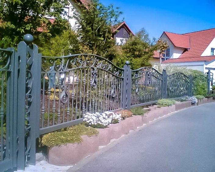 Kraussold Metallbau - Zäune